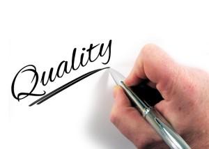 Qualität ist uns wichtig