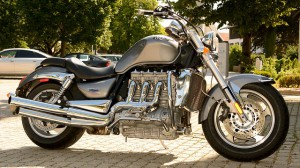 Transport von Motorrädern